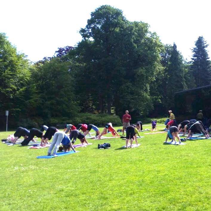 yogacentrum oost west buiten yoga in tilburg bij grotto